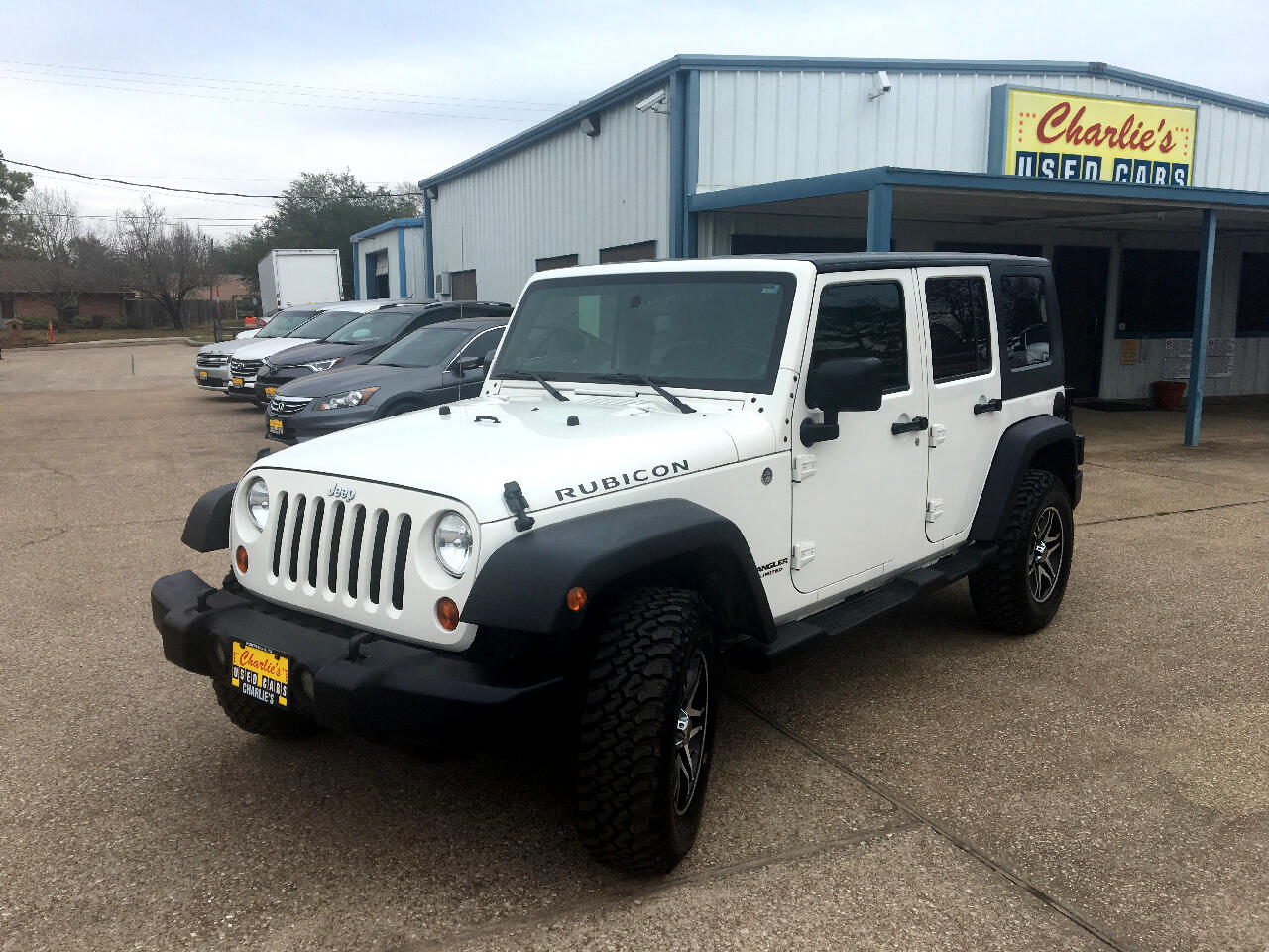 used 2009 jeep wrangler unlimited 4wd 4dr rubicon for sale in huntsville tx 77340 charlie 39 s used. Black Bedroom Furniture Sets. Home Design Ideas