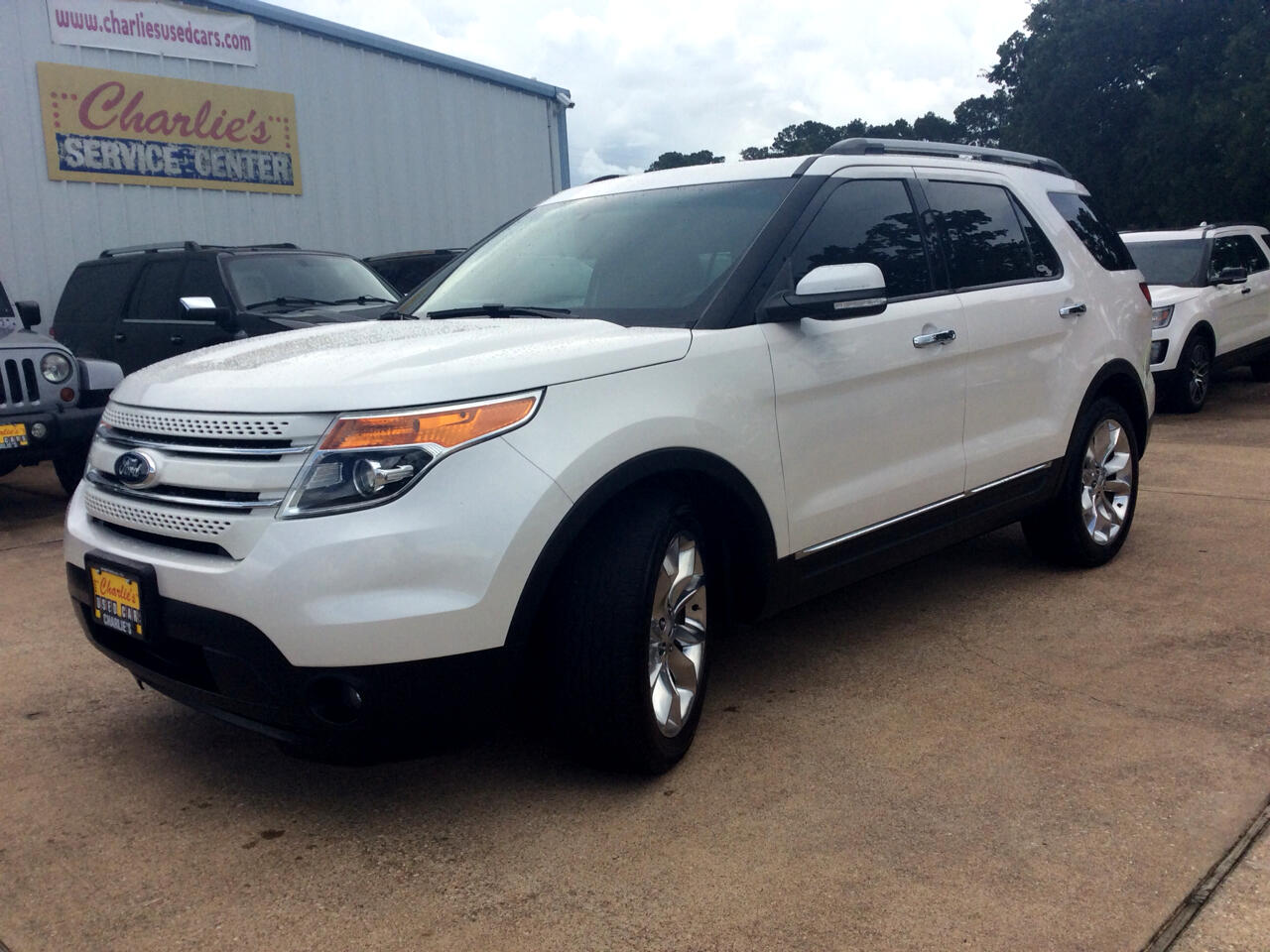 2015 Ford Explorer Limited 4 dr 2WD
