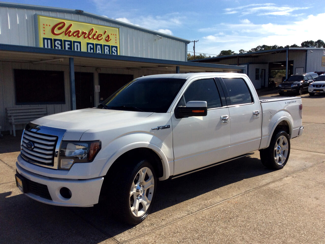2011 Ford F-150 SuperCrew Crew Cab Limited 4WD