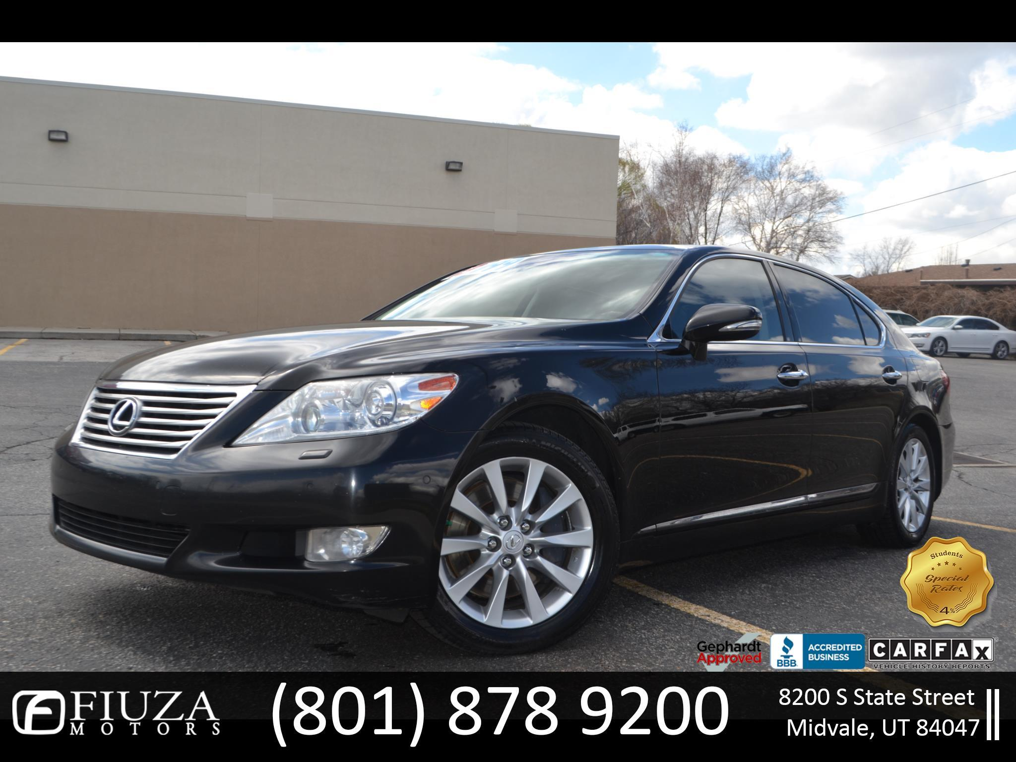 2010 Lexus LS 460 L Luxury Sedan AWD