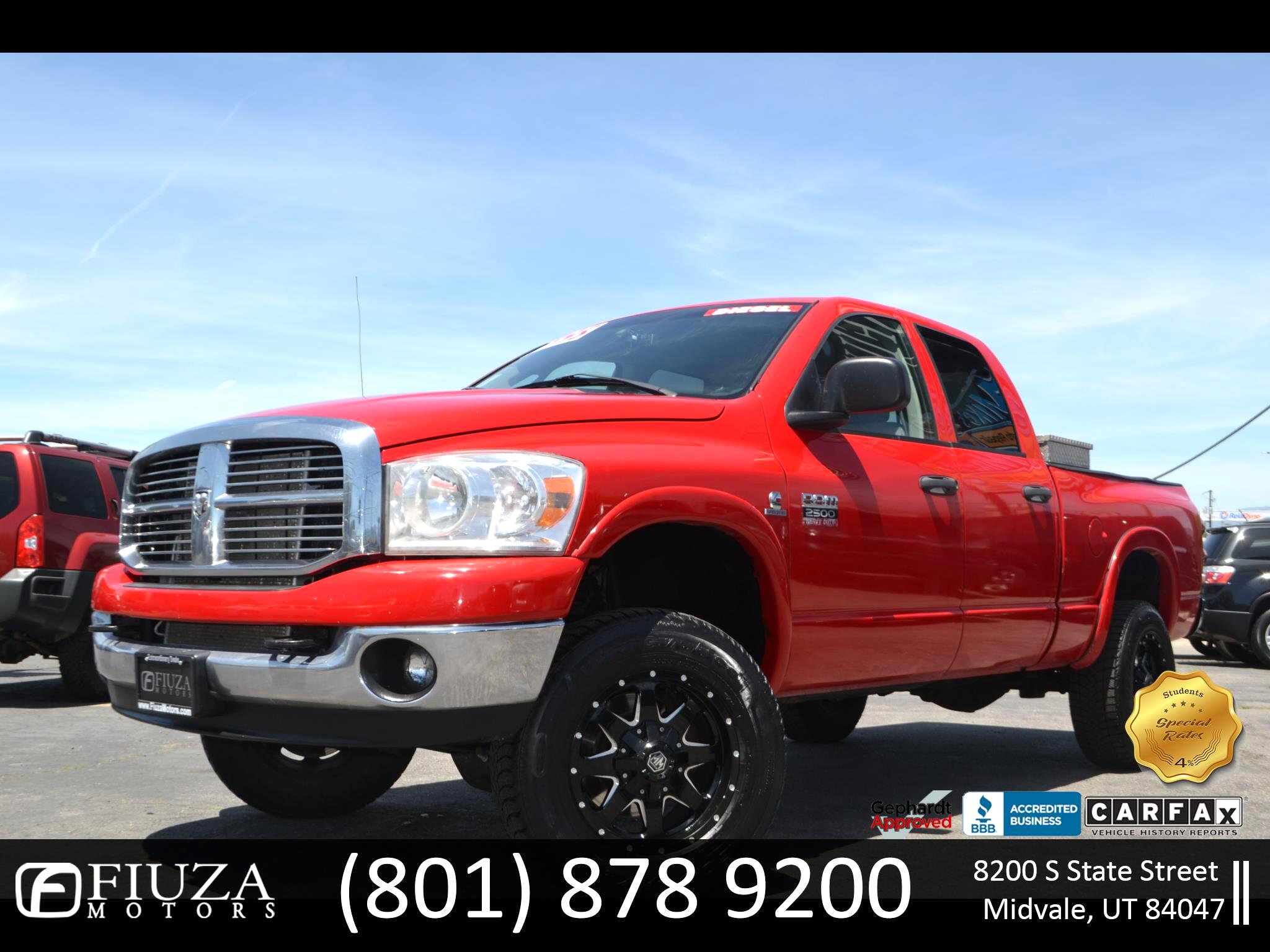 2008 Dodge Ram 2500 SLT Quad Cab Long Bed 4WD