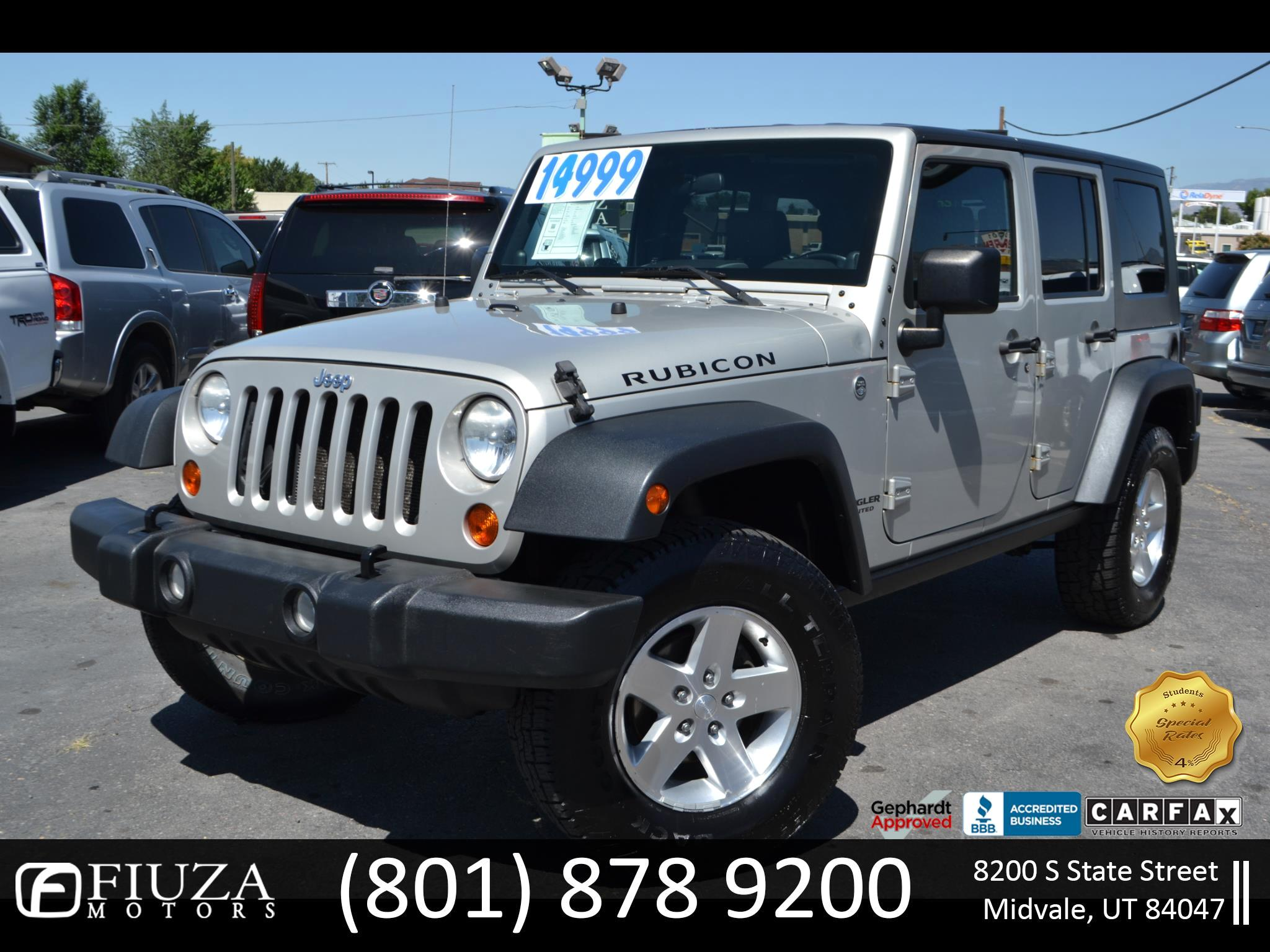 2007 Jeep Wrangler Unlimited Rubicon 4WD