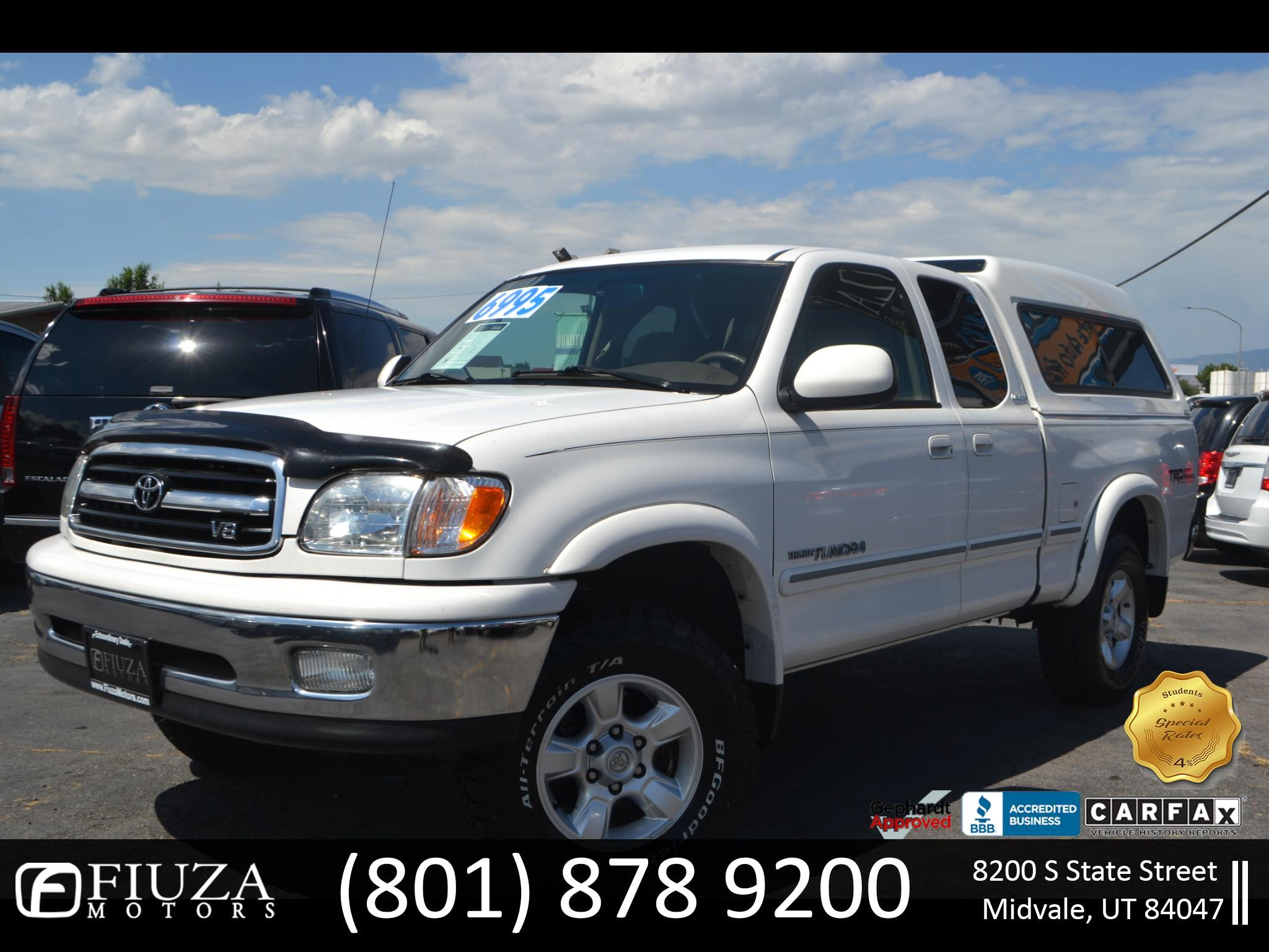 2002 Toyota Tundra Limited Access Cab 2WD