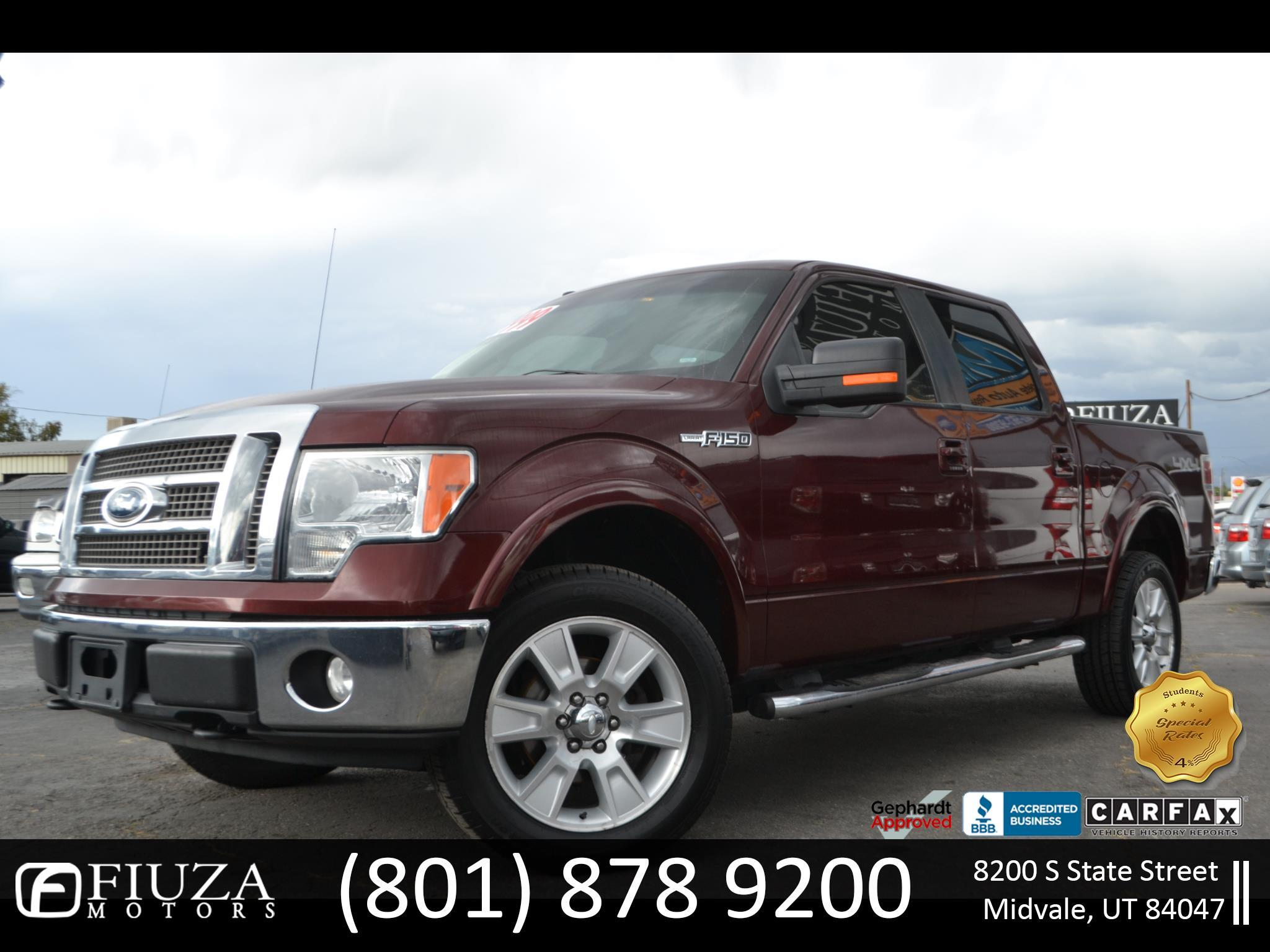 2009 Ford F-150 Lariat SuperCab Short Bed 4WD