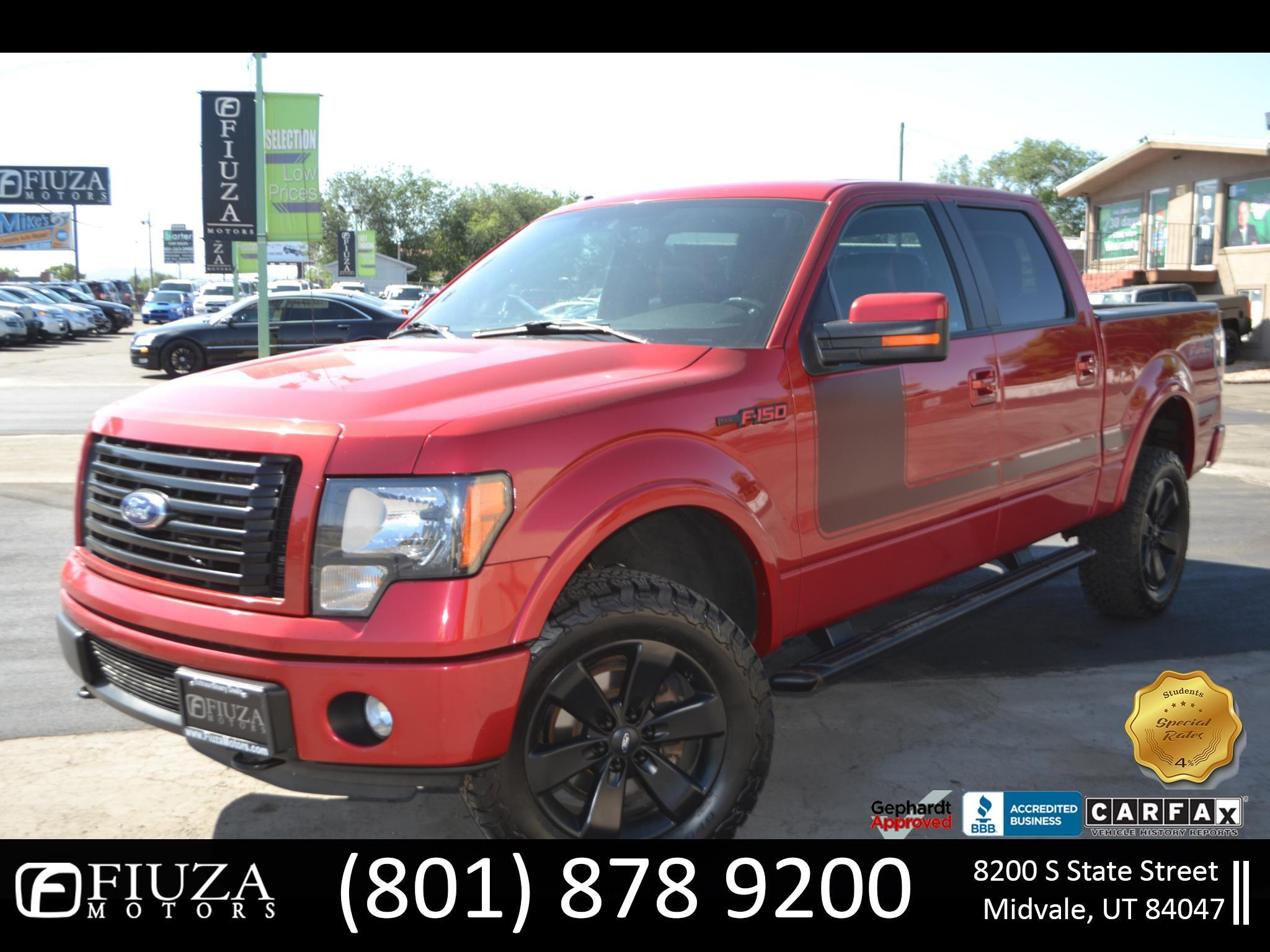 Ford F-150 FX4 SuperCrew 4WD 2012