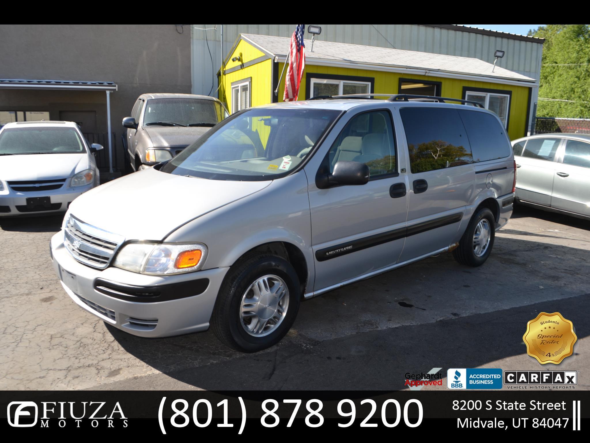 2001 Chevrolet Venture Plus Extended