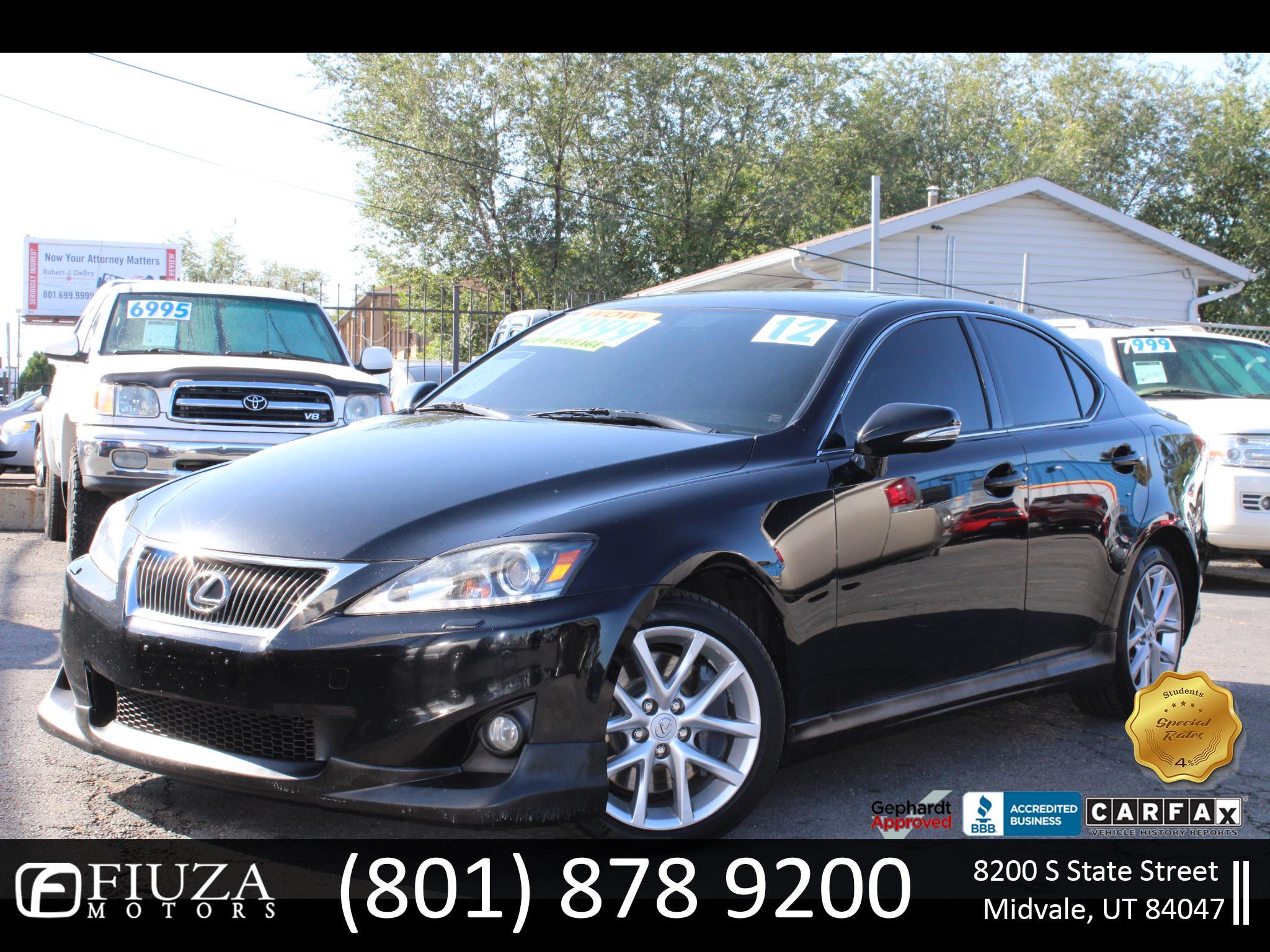 2012 Lexus IS IS 350 AWD