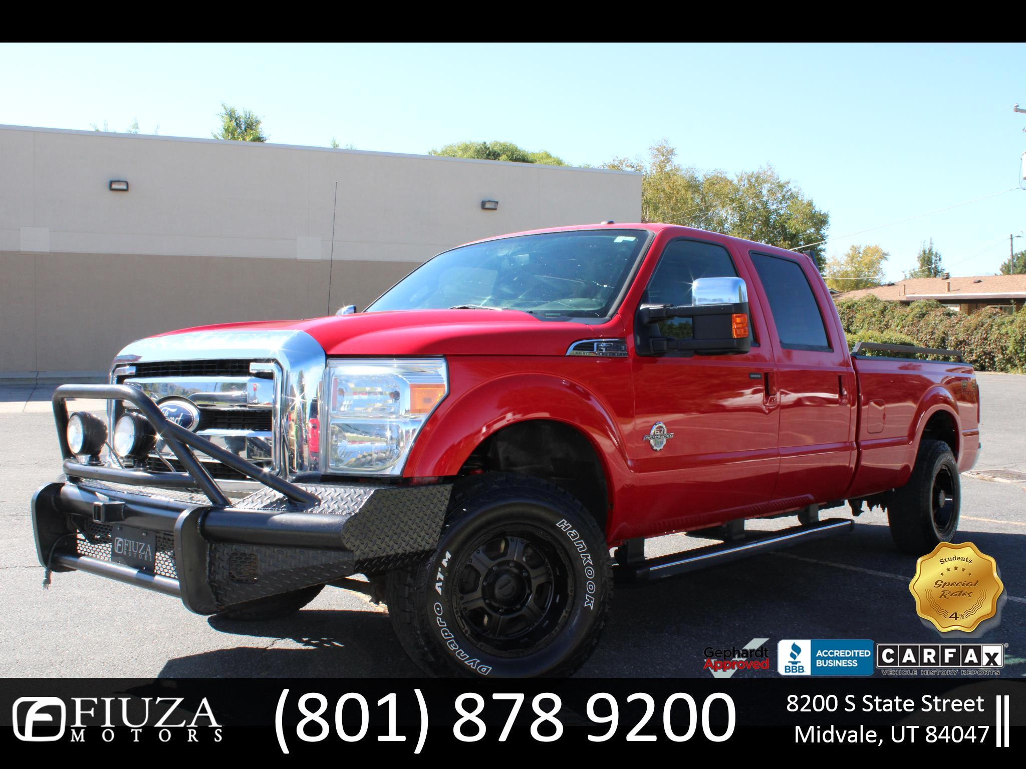 Ford F-250 SD Lariat SuperCab Long Bed 4WD 2011