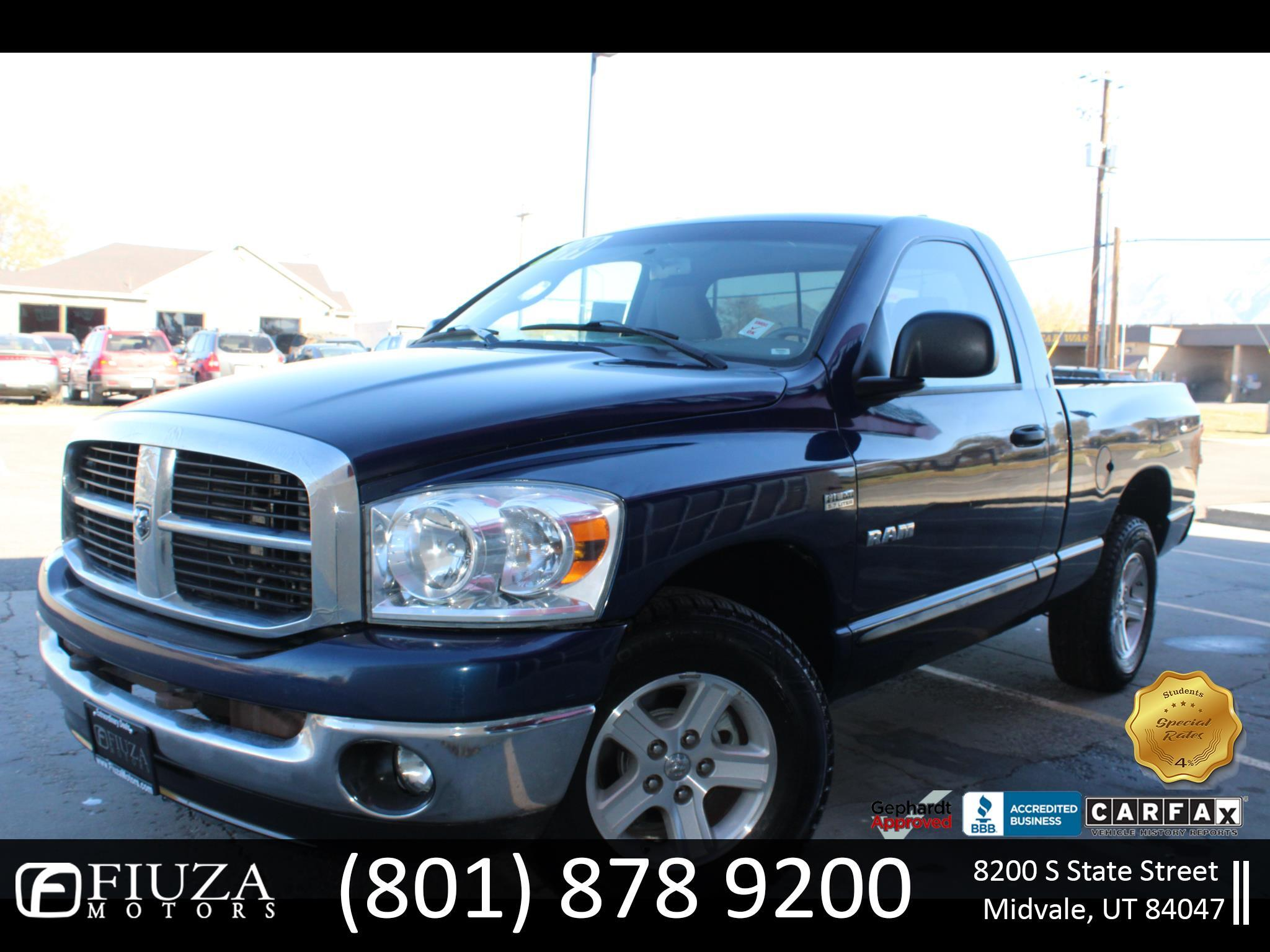 Dodge Ram 1500 SXT Long Bed 2WD 2008