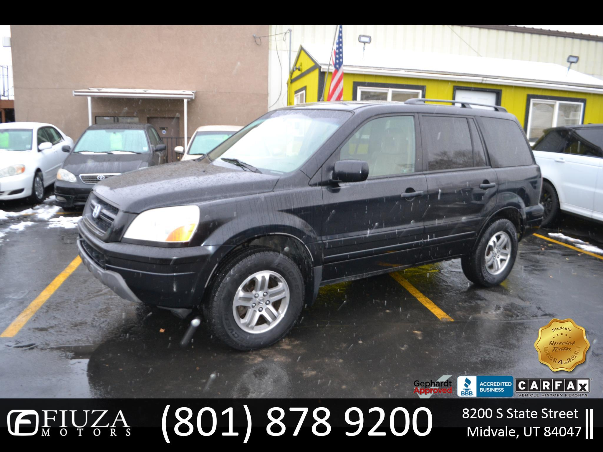 Honda Pilot EX w/ Leather 2004
