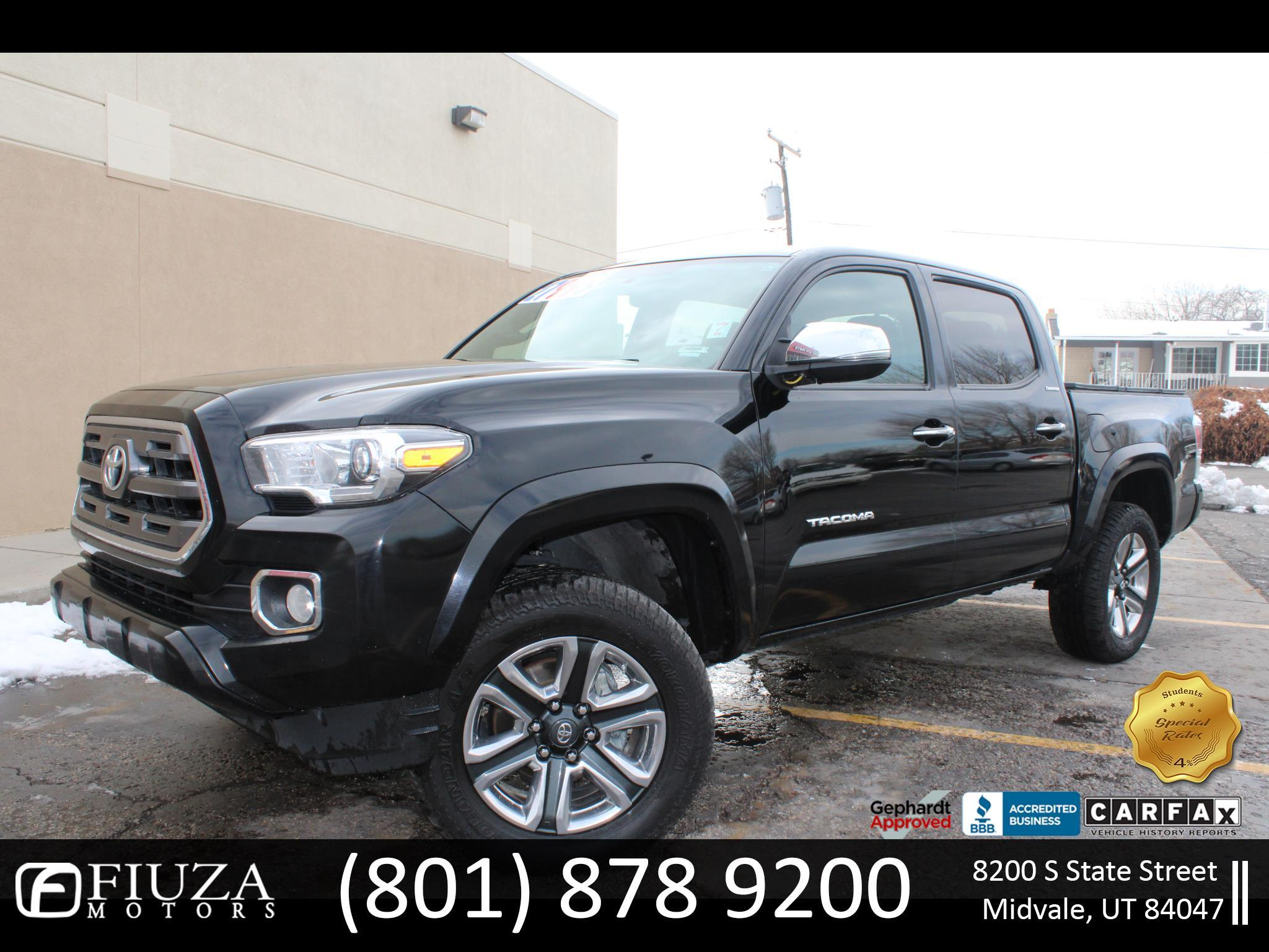 Toyota Tacoma Limited Double Cab V6 6AT 4WD 2016