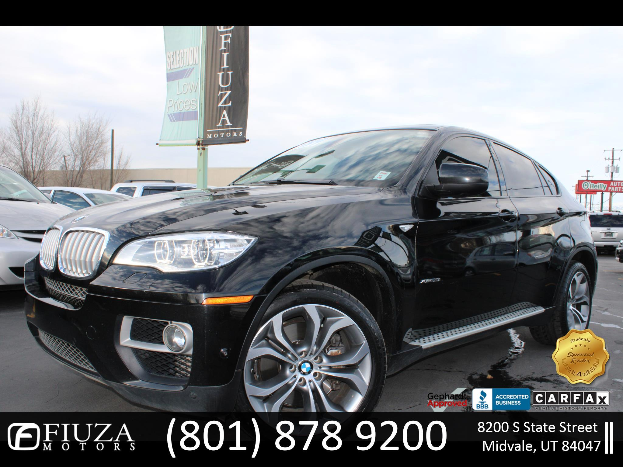 BMW X6 AWD 4dr xDrive50i 2014