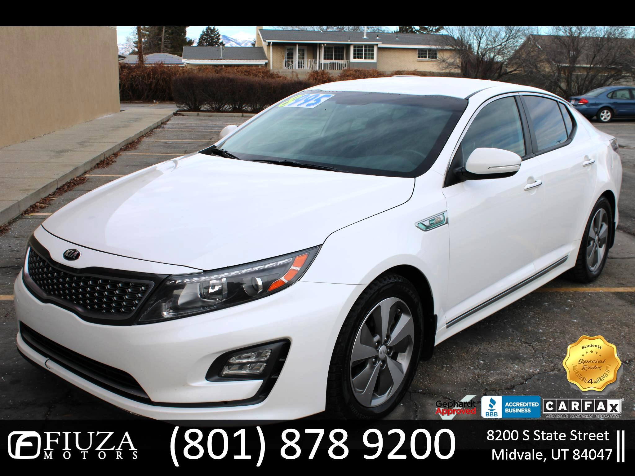 Kia Optima Hybrid EX 2015