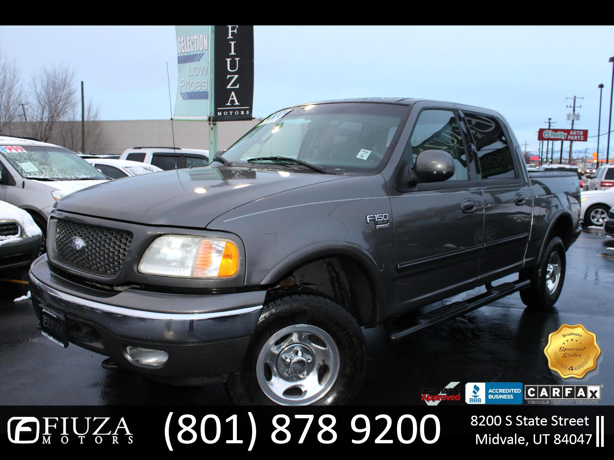 Ford F-150 XLT Short Bed 4WD 2003