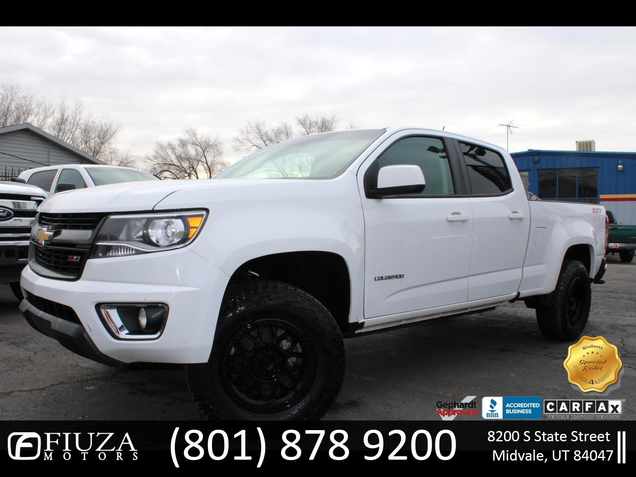 "Chevrolet Colorado 4WD Crew Cab 140.5"" Z71 2016"