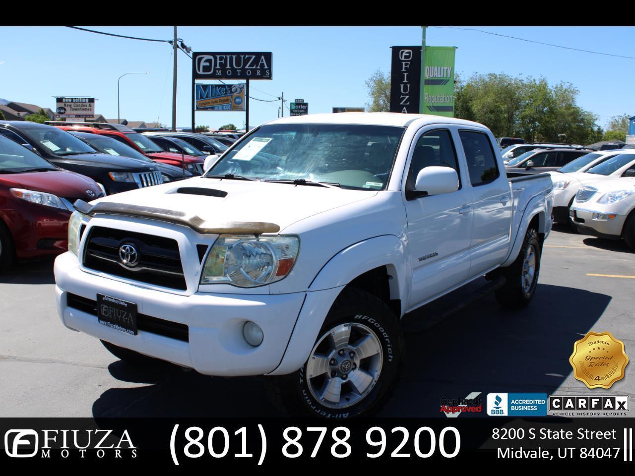 """Toyota Tacoma Double 128"""" Auto 4WD (Natl) 2005"""
