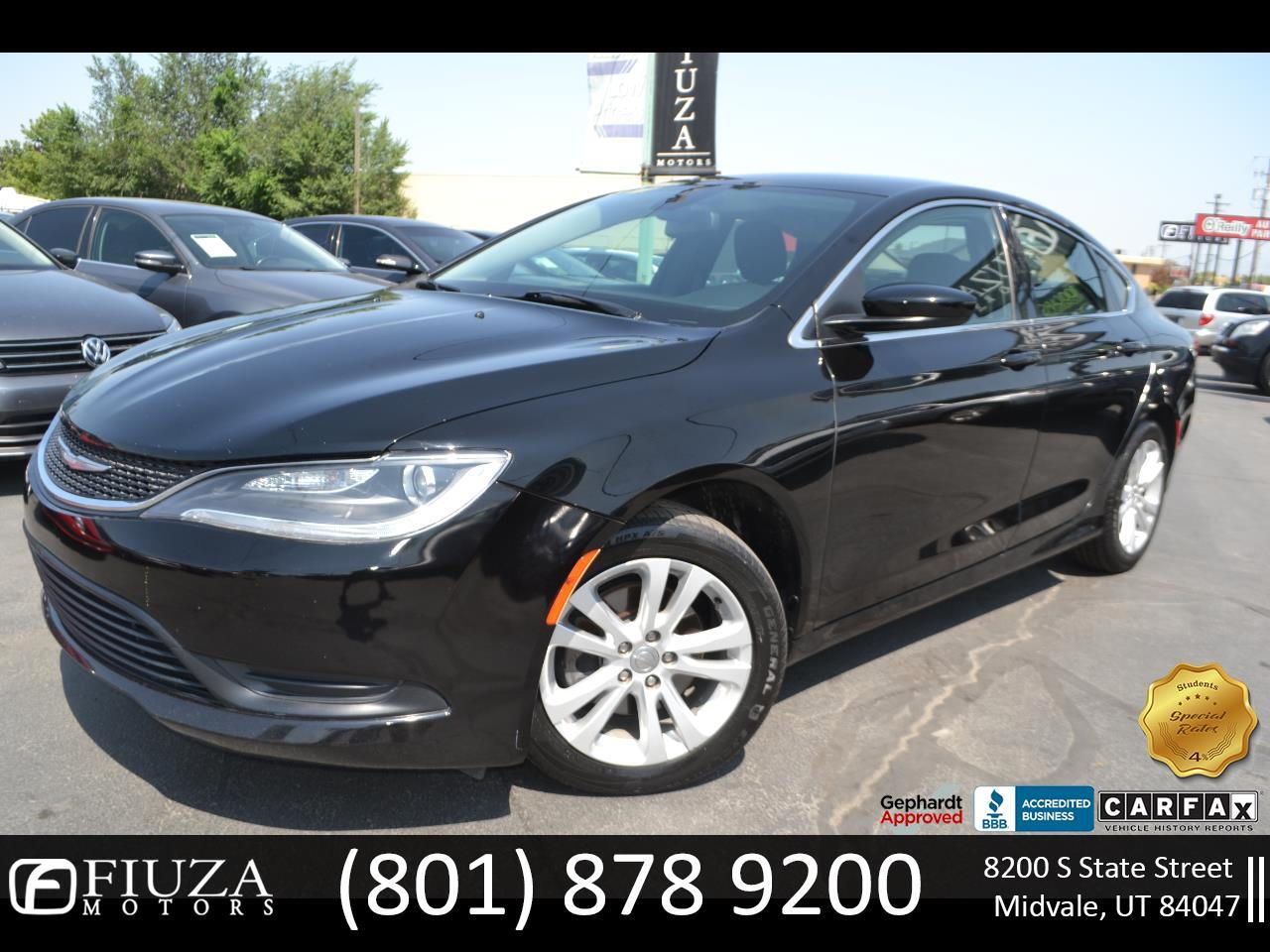 Chrysler 200 4dr Sdn Touring FWD 2016