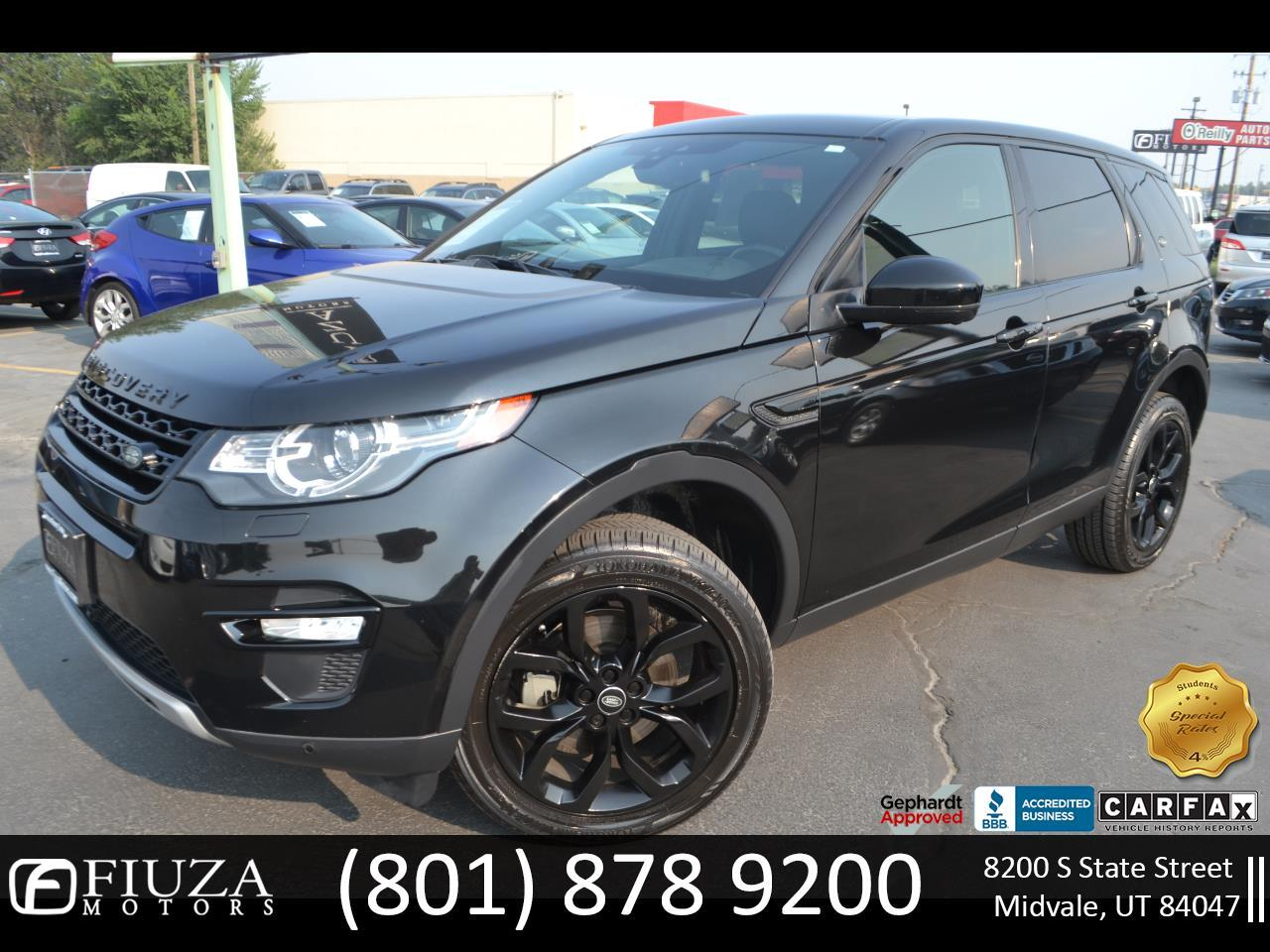 Land Rover Discovery Sport AWD 4dr HSE 2015
