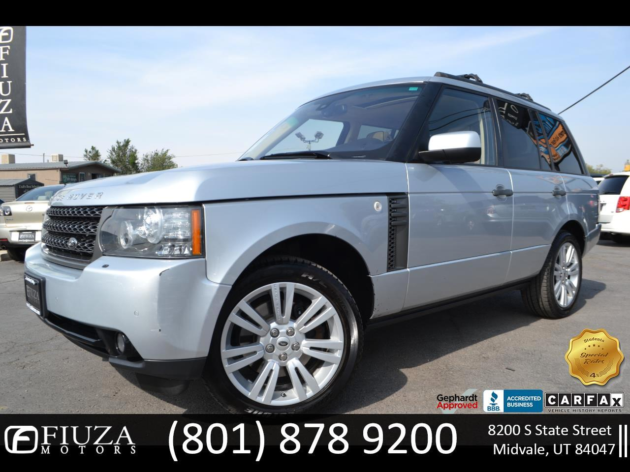 Land Rover Range Rover 4WD 4dr HSE LUX 2011