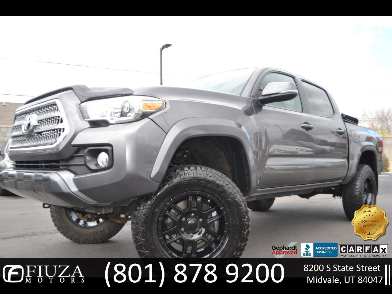 Toyota Tacoma 4WD Double Cab V6 AT TRD Sport (Natl) 2016