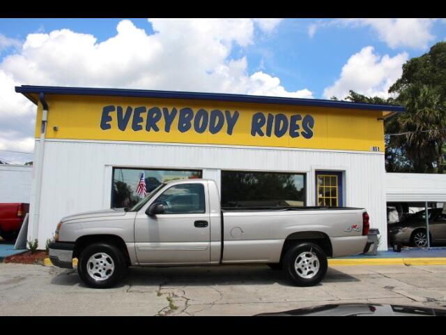 2004 Chevrolet Silverado 1500 Regular Cab Long Bed 4WD