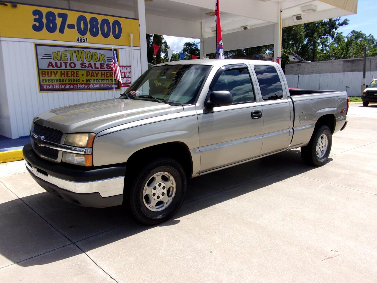 2003 Chevrolet Silverado 1500 1LT Double Cab 4WD