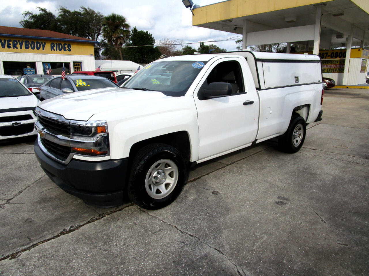 Chevrolet Silverado 1500 Work Truck Short Box 2WD 2016