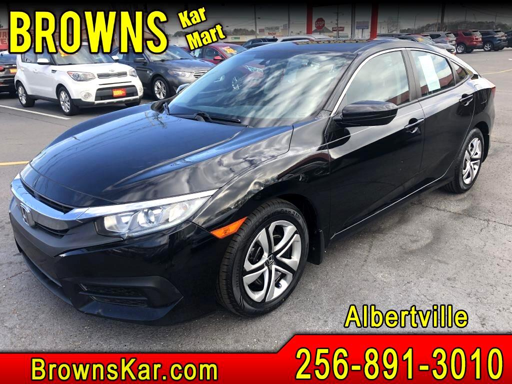 Honda Civic LX Sedan CVT 2016
