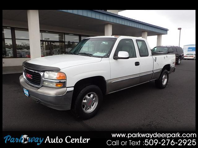 2001 GMC Sierra 1500 SLE Ext. Cab Short Bed 4WD