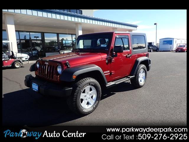 2010 Jeep Wrangler 4WD 2dr Sport