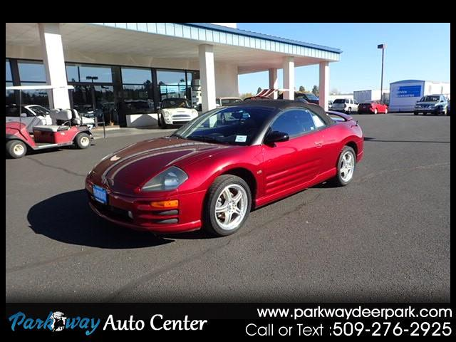 2001 Mitsubishi Eclipse 2dr Conv Spyder GT Sportronic