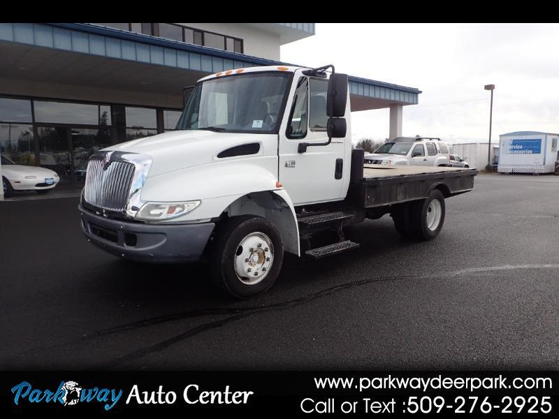 2003 International 4200 Flat Bed Turbo Diesel