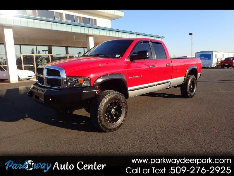 2004 Dodge Ram 2500 4dr Quad Cab long bed 4WD Turbo Diesel
