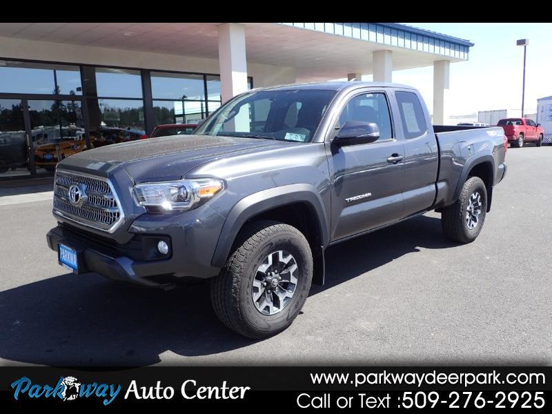 2016 Toyota Tacoma 4X4 Access Cab AT TRD Off Road