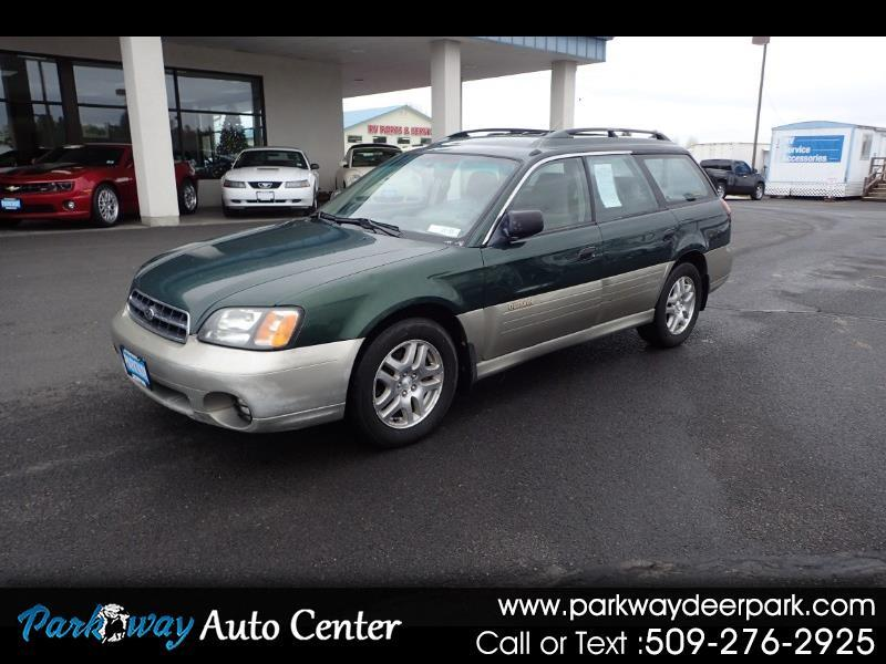 2001 Subaru Legacy Wagon 5dr Outback Auto w/RB Equip