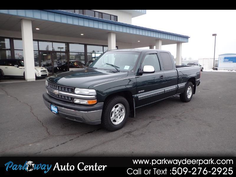 2001 Chevrolet Silverado 1500 Ext Cab 143.5