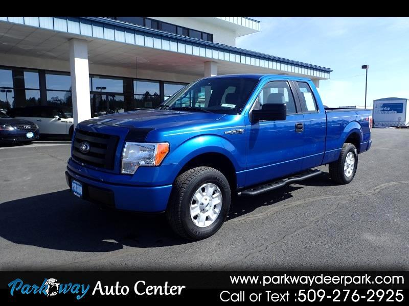 2011 Ford F-150 4WD SuperCab STX
