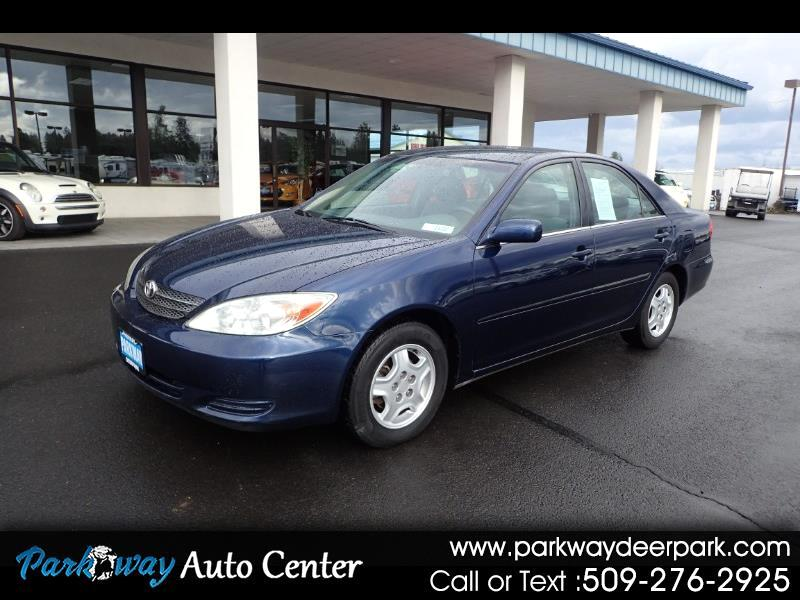 2002 Toyota Camry 4dr Sdn XLE V6