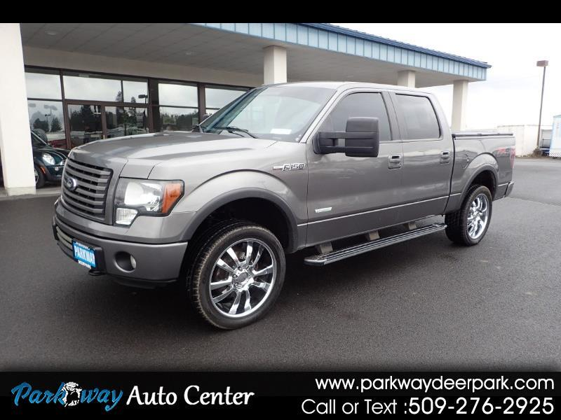 2012 Ford F-150 4WD Super-Crew FX4