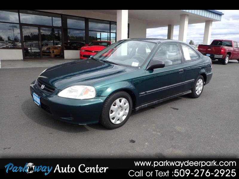 1999 Honda Civic 2dr Cpe DX Manual