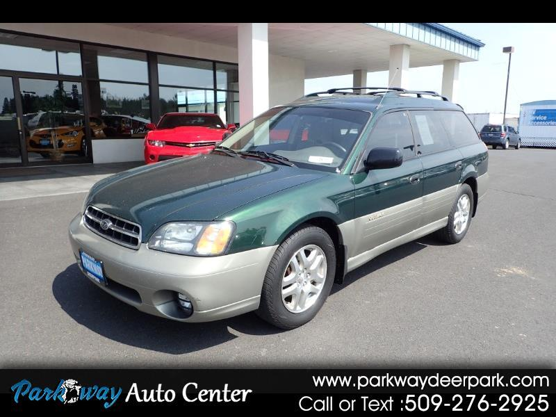 2001 Subaru Legacy Wagon 5dr Outback Auto w/RL Equip