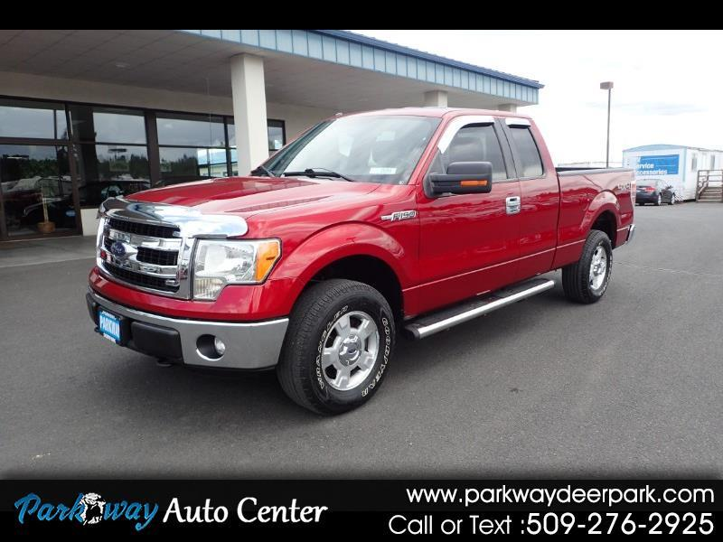 2013 Ford F-150 4wd SuperCab XLT