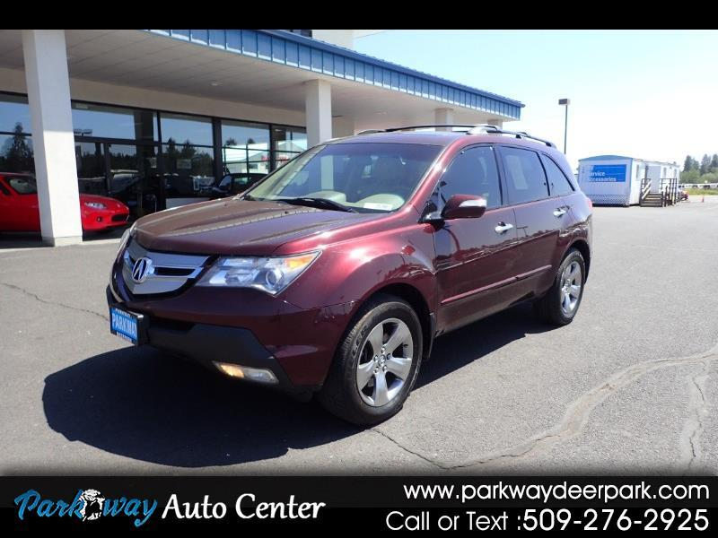 2008 Acura MDX 4WD 4dr Sport/Entertainment Pkg