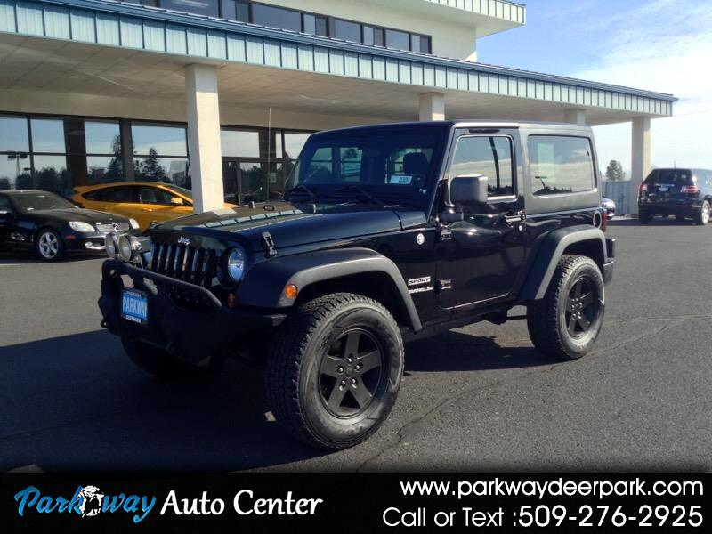 Jeep Wrangler 4WD 2dr Sport 2012