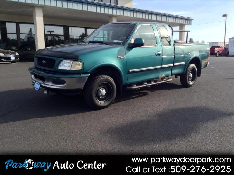 "Ford F-150 Supercab 139"" 4WD Lariat 1997"