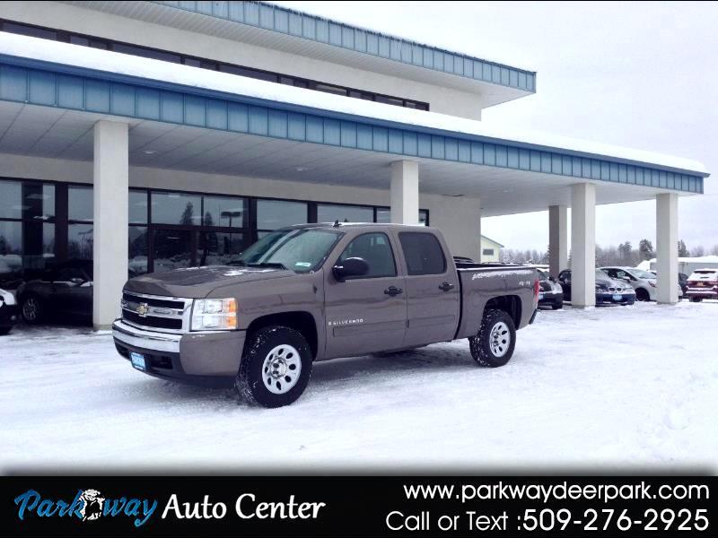 """Chevrolet Silverado 1500 4WD Crew Cab 143.5"""" LT w/1LT 2007"""