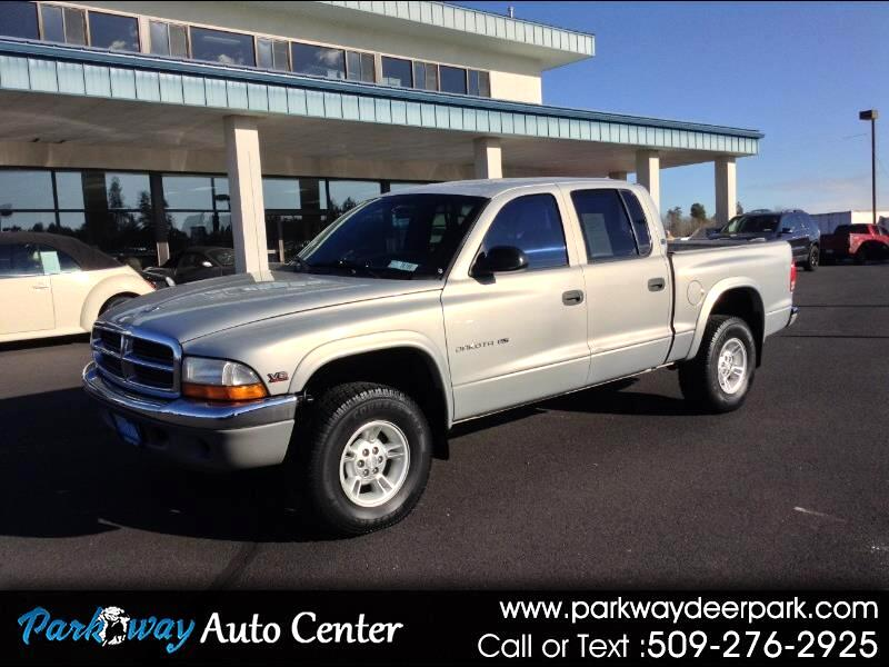 "Dodge Dakota Quad Cab 131"" WB 4WD Sport 2000"