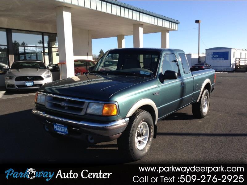 "Ford Ranger Supercab 125.4"" WB XLT 4WD 1996"