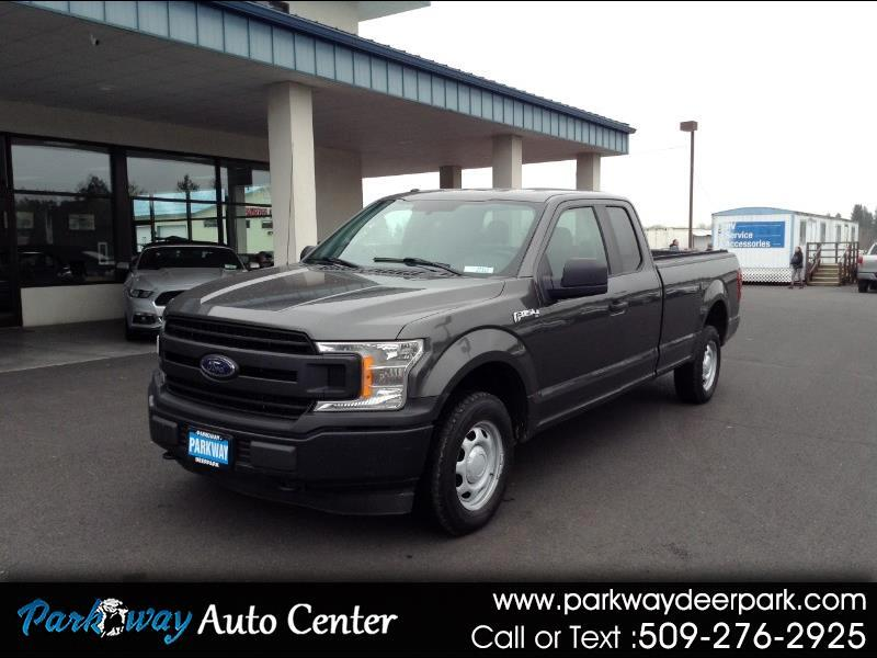 Ford F-150 XL 8-ft. Bed 4WD 2018
