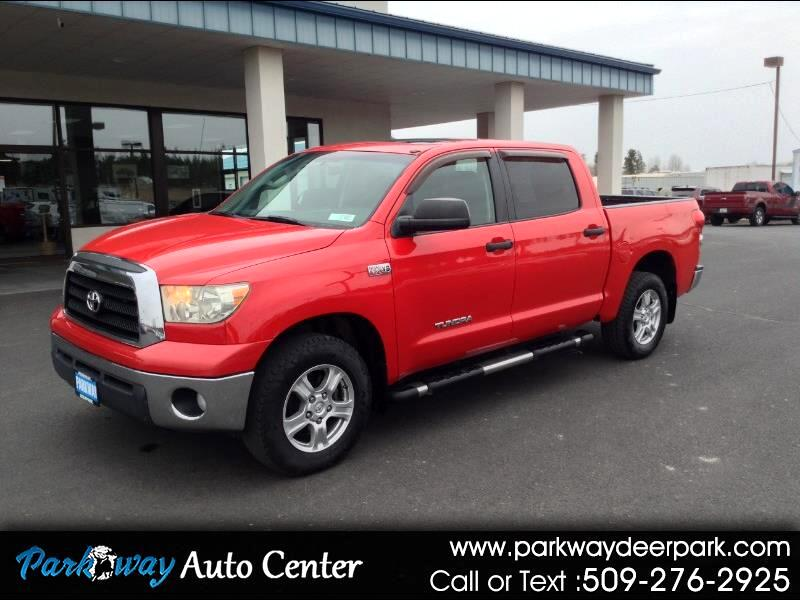 Toyota Tundra 4WD Truck CrewMax 5.7L V8 6-Spd AT (Natl) 2008